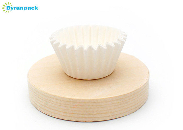 Classic Large Greaseproof Muffin Liners , Custom Size Greaseproof Cake Cases