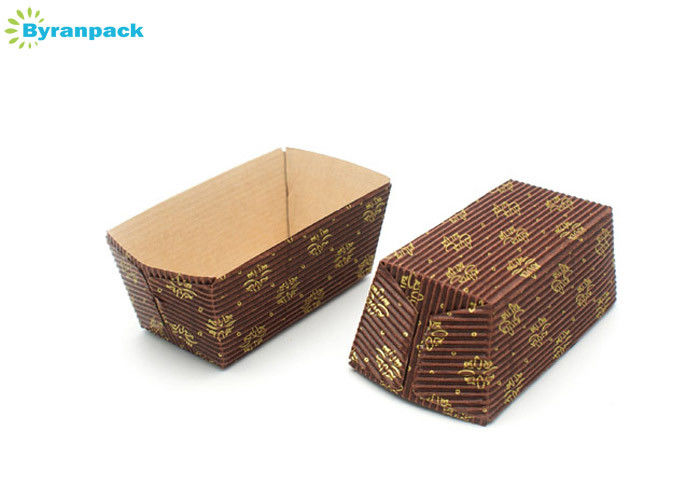 Customized Logo Print Corrugated Cake Boxes High Temperature Resistance