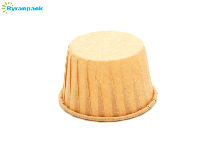 Custom Size Original Pleated Baking Cups For Food Factory Temperature Resistant