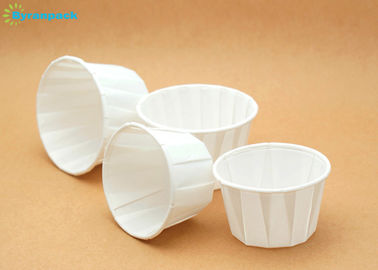 100% Wood Virgin Pulp Paper Muffin Cups , Greaseproof Mini Souffle Cups