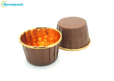 China Water Resistant Pleated Baking Cups With PET Coated Paper Detached Easily factory