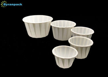 China 30ml Degradable Paper Condiment Cups Waterproof / Non Stick Eco - Friendly factory
