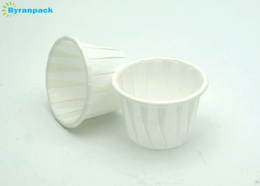 2 Oz Disposable Paper Sauce Cups / Small Souffle Cups Round Shape for Baking