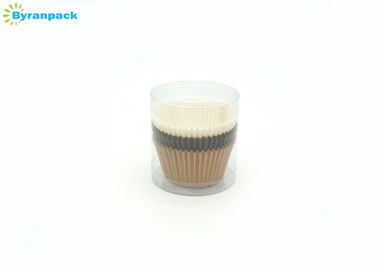 China Standard Size Greaseproof Mini Cupcake Liners Food Grade Greaseproof Cake Cases factory