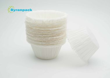 Unique Greaseproof Baking Cups 40 - 55Gsm Paper Weight White / Brown Color